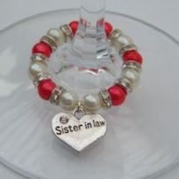 Sister In Law Wine Glass Charms